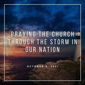 Praying The Church Through The Storm In Our Nation - October 5 - Pastor Jay Eberly (Post Graphic)